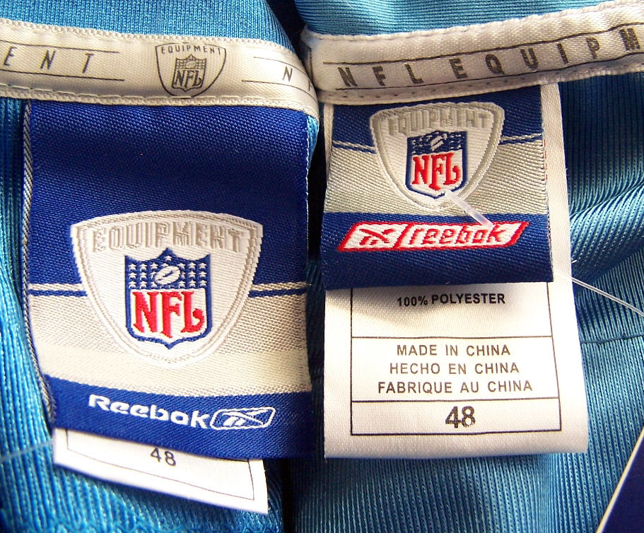 nfl jerseys made in china